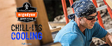 Ergodyne Chill-Its Evaporative Cooling Products - Beat the Heat