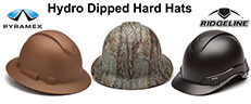 Stand Out with Pyramex Hydro Dipped Hard Hats