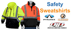 Safety Sweatshirts - High Visibility Hoodies