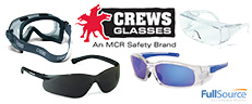 Crews Safety Glasses and Goggles - A Brand of MCR Safety