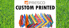 Custom Marking Flags by Presco and How You Can Design Your Own