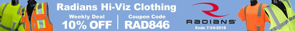 Save on Radians Hi-Viz Clothing