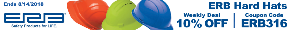 Save on ERB Hard Hats