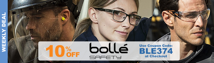 Weekly Deal - Bollé Safety Glasses - Valid Thru 3/20