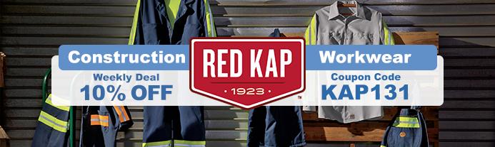 Weekly Deal - Red Kap Construction Workwear - Valid Thru 3/27