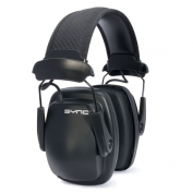 Howard Leight Sync Stereo Headband Earmuffs w/3.5mm Input Cable