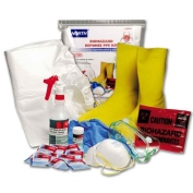 North Safety Biohazard PPE Kit