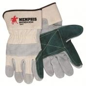 Memphis 16012 Sidekick Double Leather Palm Gloves - 2.5\\\