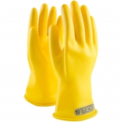 PIP Novax Rubber Insulating Gloves - 11 Inches - Class 00 - Yellow