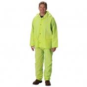PIP 201-355 Falcon Premium 3-Piece Rainsuit - Yellow/Lime