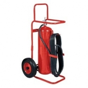 Badger 50 lb BC, Wheeled Fire Extinguisher Stored Pressure