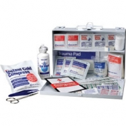 Bulk First Aid Kit - 25 Person Metal Case with Dividers