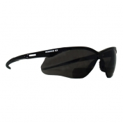 Nemesis RX Bifocal Safety Glasses - Black Frame - Smoke Lens