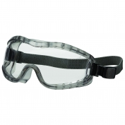 Crews Stryker Goggles - Elastic Strap - Clear Anti-Fog Lens