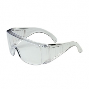 Bouton Scout Visitor Specs - Clear Frame - Clear Uncoated Lens