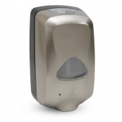 Gojo TFX Dispenser with Nickel Finish- Plain- No Logo