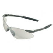 Nemesis VL Safety Glasses - Gunmetal Frame - Indoor/Outdoor Mirror Lens