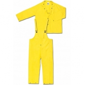 MCR Safety 3 Piece Yellow Rain Suit