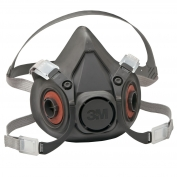 3M 6300 Reusable Half Face Mask Respirator - Large