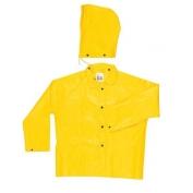 MCR Safety Yellow Jacket Deatachable Hood