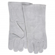 Memphis 4152 Regular Grade Shoulder Welder Gloves - 12 inch - Gray