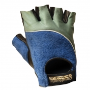 OccuNomix ClassicTerry Back Gel Gloves - Gray/Blue