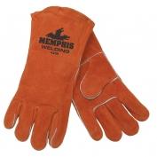 Memphis 4300 Red Ram Premium Select Shoulder Cow Leather - Welder Gloves - Brown