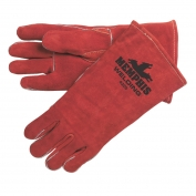 Memphis 4320 Russet Select Leather - Welder Gloves - Sewn with Kevlar - Red