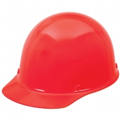 MSA 454620 Skullgard Hard Hat - Staz-On Suspension - Red