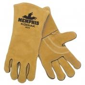 Memphis 4620 Kodiak Premium Split Select Shoulder Cow Leather - Welders Gloves - Gold