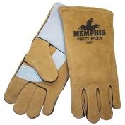 Memphis 4622 Red Fox Select Side Split Leather - Welders Gloves - Foam Lined - Brown