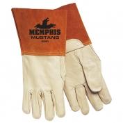 Memphis 4940 Mustang Top Grain Cowhide Leather - MIG/TIG Welders Gloves - Brown