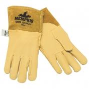 Memphis 4984 Big Buck Premium Grain Deerskin Leather - MIG/TIG Welders Gloves - Yellow