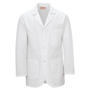 Red Kap Men\\\'s Button Front Lab Coat - White
