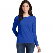 Gildan 5400L Ladies Heavy Cotton Long Sleeve T-Shirt - Royal