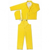 MCR Safety Yellow 3-Piece Suit