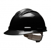 Bullard S62BKR Standard Vented Hard Hat - Ratchet Suspension - Black