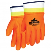 Memphis Oil Hauler Gloves - Hi Vis Lime/Orange
