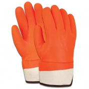 Memphis PVC Coated Gloves - Orange