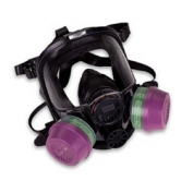 North Safety 7600 Series Silicone Full Facepiece