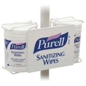 PURELL Sanitizing Wipes Bracket- Double Pole Mount