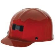 MSA 91590 Comfo-Cap Mining Hard Hat - Staz-On Suspension - Red
