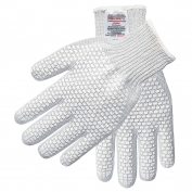 Memphis 9382 Steelcore II Gloves - 7 Gauge - PVC Blocks Both Sides - White