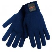 Memphis 9622 Thermostat String Knit Gloves - 10 Gauge - Blue