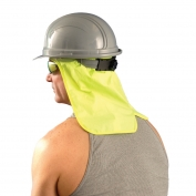 OccuNomix 971-HVY Hard Hat Neck Shade - Yellow/Lime