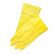 Memphis Gloves Yellow with Safety Cuffs - Small