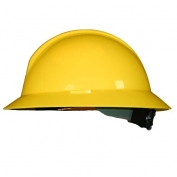 North A119R Everest Full Brim Hard Hat - ANSI Type II Compliant - Yellow