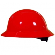 North A119R Everest Full Brim Hard Hat - ANSI Type II Compliant - Red