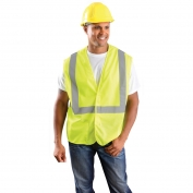 OK-1 A1L Class 2 Classic Mesh Standard Vest - Yellow/Lime