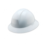 North A49R Everest Full Brim Hard Hat - Ratchet Suspension - White